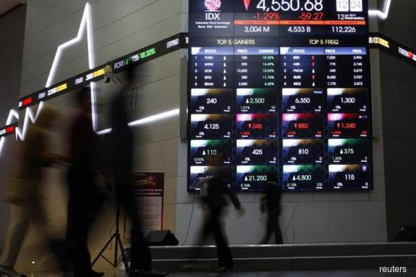 Indonesia traders return from break to ramped-up trade tensions