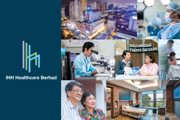 IHH Healthcare declines; trading volume surges