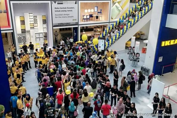 IKEA's first store in northern Peninsular Malaysia a hit among shoppers