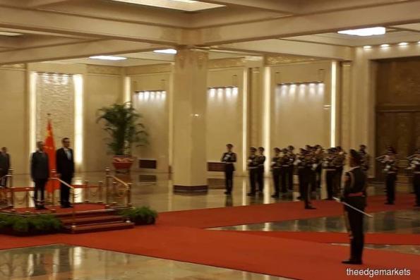 敦马向中国保证 将进一步加强外交关系