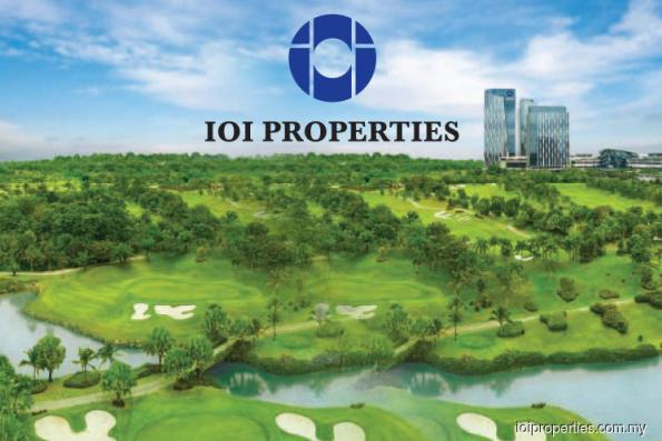 IOI Properties 1Q profit up 28% on better earnings from core businesses