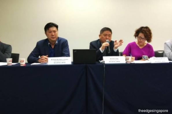 ISR Capital says chairman's statement at EGM mistranslated