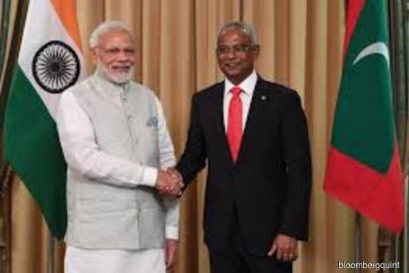 India offers US$1.4 bil to Maldives amid tussle with China