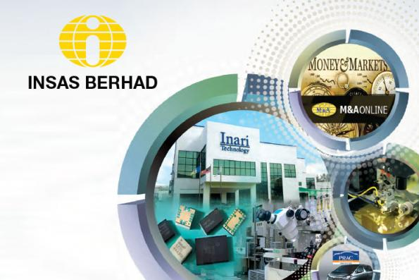 Insas 1Q earnings fall 33%, declares one sen dividend