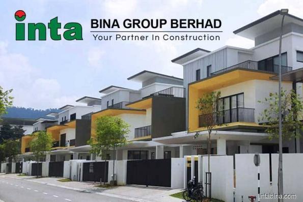 获9780万公寓合约 Inta Bina升2.94%