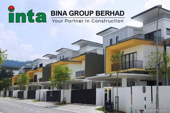 Inta Bina active, up 4.54% on bagging RM62.64 million contract