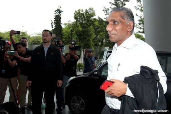 Irwan Serigar arrives at MACC for questioning on 1MDB