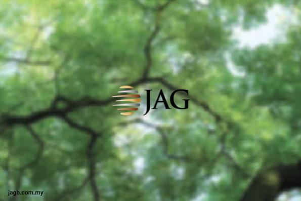 JAG top active, falls 6.45% on profit taking