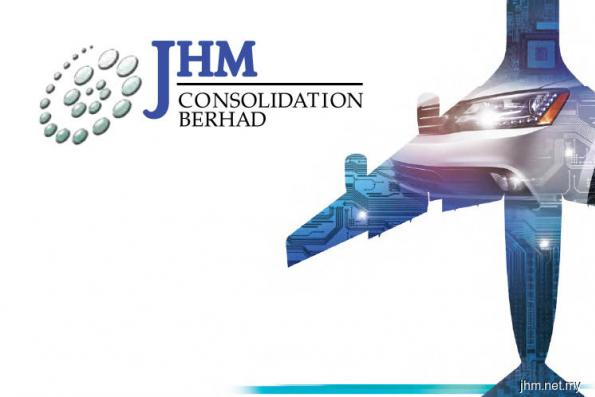 JHM active, up 2.92% on positive technicals