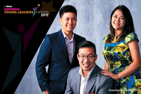 The Edge Inspiring Young Leaders Awards 2017: JOHN-SON OEI, JAYNE KENNEDY + LOH JON MING – Founders, EPIC Homes