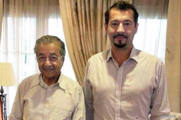 Justo meets Dr Mahathir