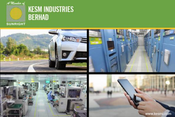 KESM跳涨6.24% 末季净利企稳和宣布派息