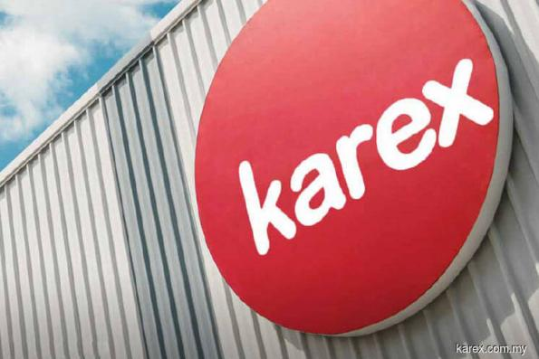 Karex active, up 2.68% on positive technicals