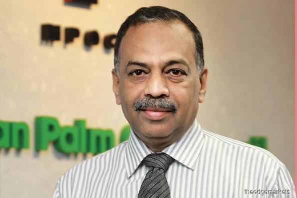 MPOC chief executive officer Datuk Dr Kalyana Sundram
