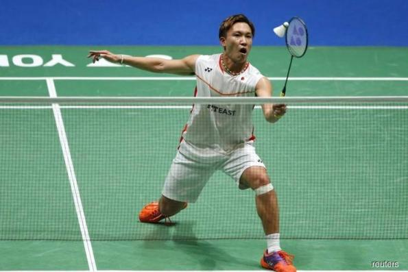 Badminton: Momota becomes first Japanese man to top world rankings