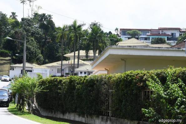How much for former PM's bungalow in Jalan Langgak Duta?