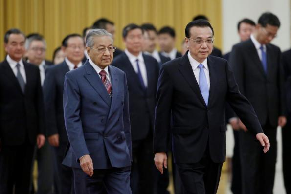 China's Premier Li says willing to push bilateral ties with Malaysia