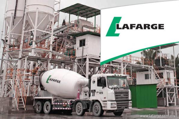 Lafarge expected to ride on the construction upcycle