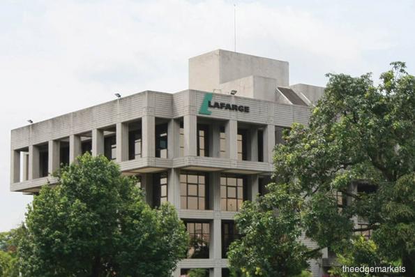 Kenanga IB Research lowers target price for Lafarge to RM1.90