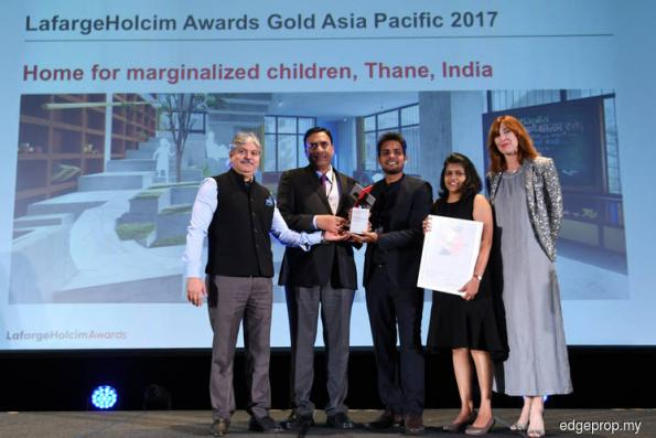 India bags LafargeHolcim Awards Gold Asia Pacific 2017
