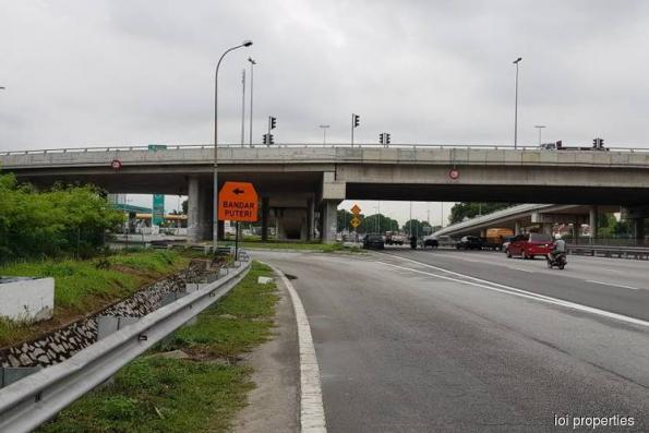 Additional alternative route to Bandar Puteri Puchong