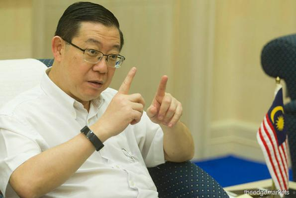 Guan Eng comments on first late closure of government account