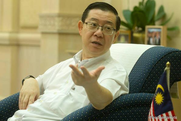 "Guan Eng: Putrajaya expects to recover a ""small amount"" of 1MDB stolen funds this year"