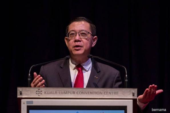 Guan Eng: ECRL's opex can go up to RM1b a year