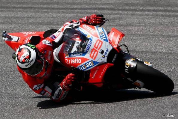 Motorcycling: Lorenzo to miss Malaysian MotoGP test after wrist operation