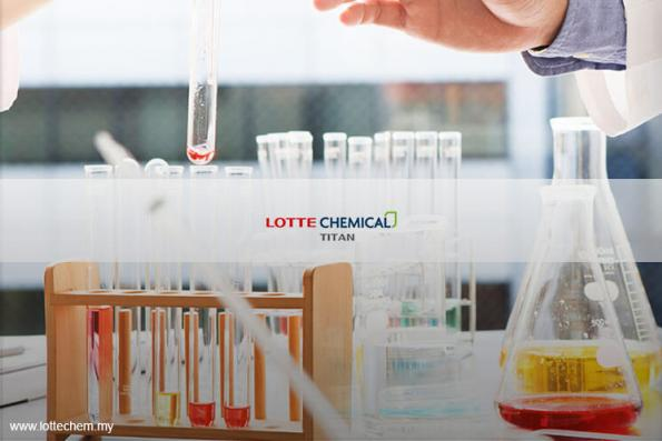 Lotte Chemical Titan prices shares at RM6.50 each