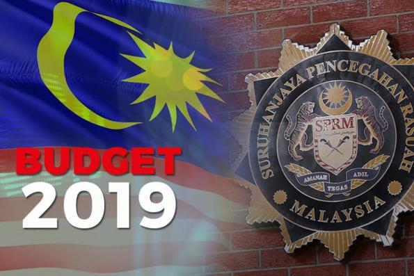 Budget: Govt to raise MACC allocation by 18.5% to RM286.8m from RM242.1m