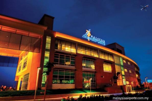Malaysia Airports down 3% as KLCI advances