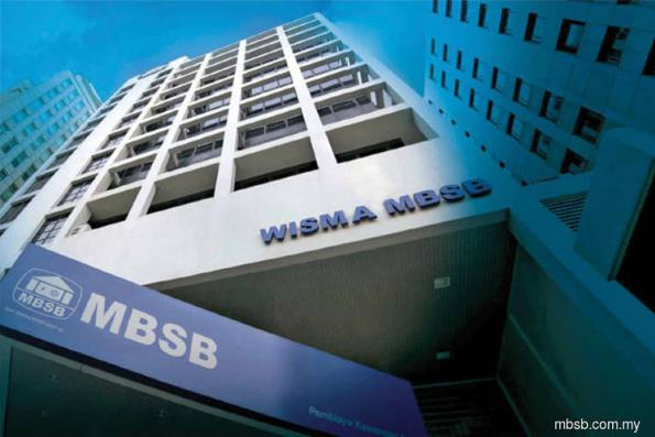 MBSB down after group said 2Q net profit fell on year