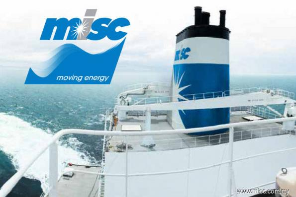 MISC 4Q earnings soar to RM338.7m, declares 9 sen dividend