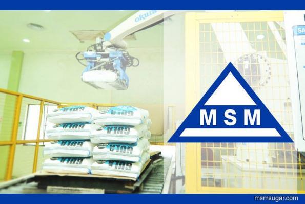 原料成本下跌及有利的外汇 MSM转亏为盈