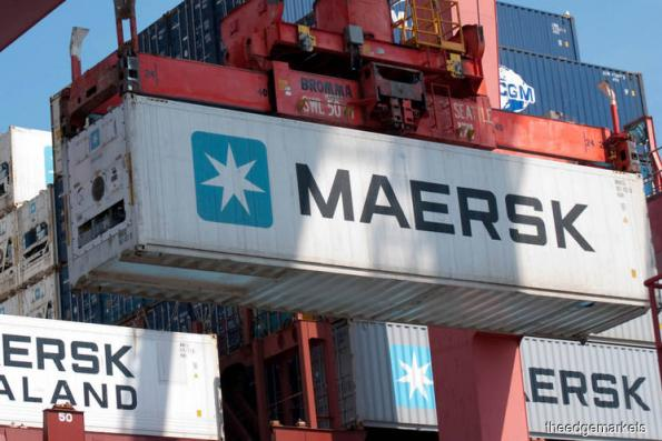 Maersk shares sink as 1Q profit disappoints, warns on trade risks