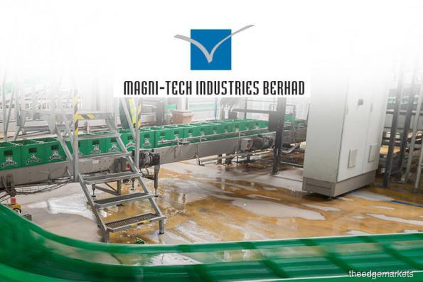 Magni-Tech's 2Q profit falls on lower sales, declares 4.5 sen dividend