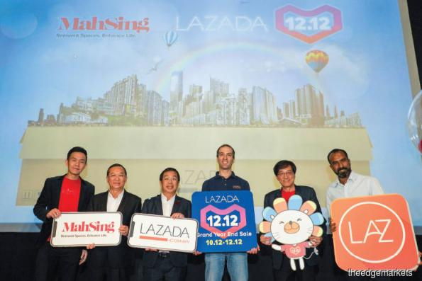 Mah Sing partners Lazada to sell its properties online