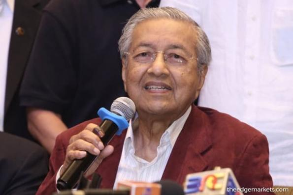 Mahathir has identified candidate for Malaysia central bank governor