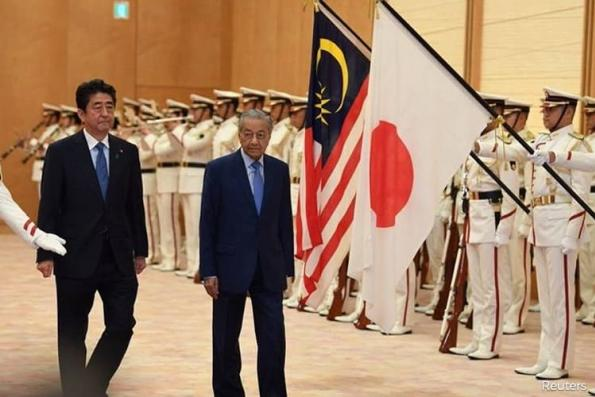 Dr Mahathir thanks Japan for RM7.4b bond guarantee