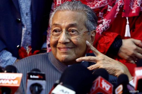 Tun M aware of flaws in figures on the country's financial position