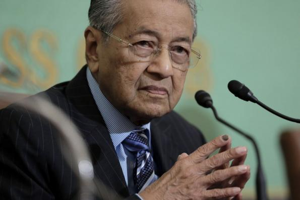 Dr Mahathir: ECRL cancellation letter circulating online could be 'cut and paste' job