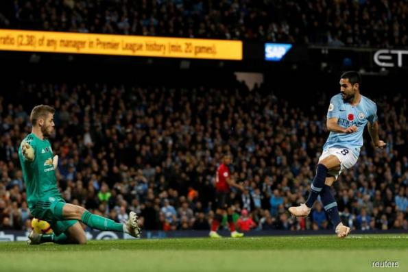 City win Manchester derby, Liverpool go second above Chelsea