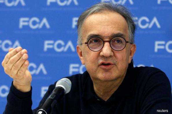 Fiat Chrysler's Marchionne dies, shares dive on profit slide