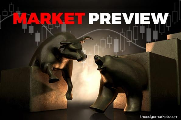 KLCI to trade range bound with upside bias, hover above 1,790 level