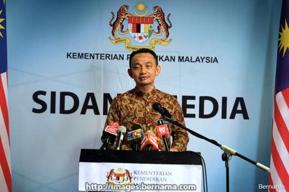 I did not say put 1MDB case into history textbook - Maszlee