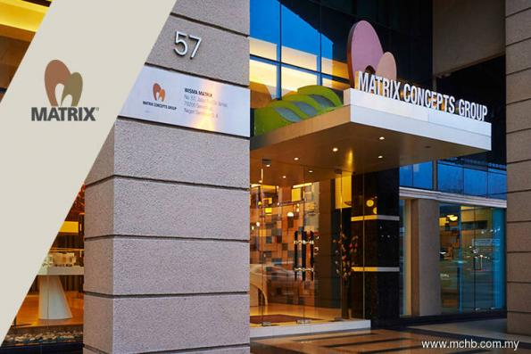 Matrix Concepts 2Q net profit up on-year as unbilled sales rises to RM1.4b