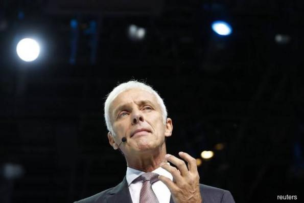 Volkswagen CEO denies price fixing by German carmakers