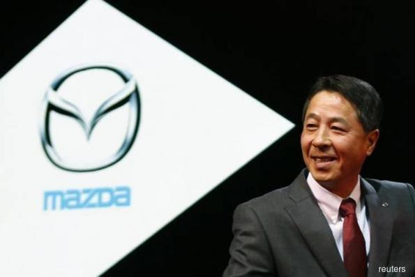 Mazda says CEO to step down, vice president to take over