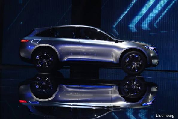 Mercedes Unveils First Tesla Rival in $12 Billion Attack